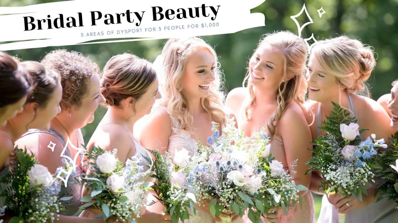 Bridal Party Skin Prep Packages